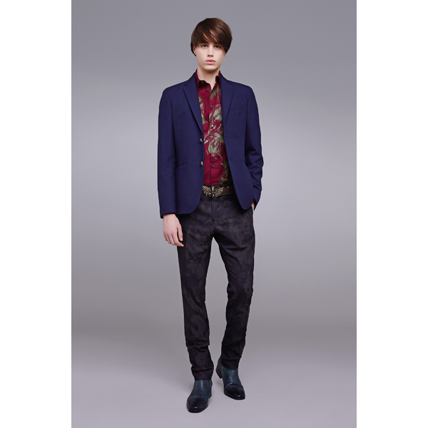 Roberto Cavalli TWO BUTTON BLAZER DARK BLUE On Sale